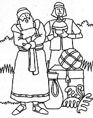 2000 stripling warriors coloring pages | Nephi Builds A Ship Coloring Page Coloring Pages