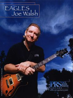 In 1975 Joe Walsh joined the Eagles. Eagles Music, Eagles Band, 70s Music, Rock Music, Joe Walsh Eagles, Life's Been Good, History Of The Eagles, Hotel California, Musica