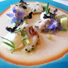 Mirazur in Menton, France has the most beautiful food imaginable.