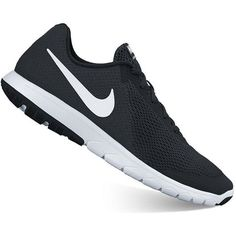 Nike Flex Experience RN 6 Women's Running Shoes ($65) ❤ liked on Polyvore featuring shoes, athletic shoes, black, nike, light weight running shoes, running shoes, lightweight running shoes and lace up shoes