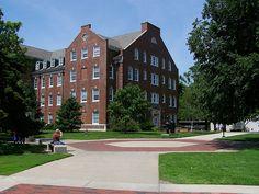 Wichita State University: Building next door to Mckinley Hall