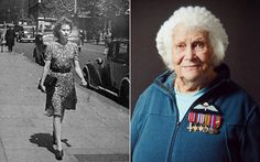 Phyllis Latour Doyle, a 93-year-old former British spy who was parachuted behind enemy lines in occupied Normandy.