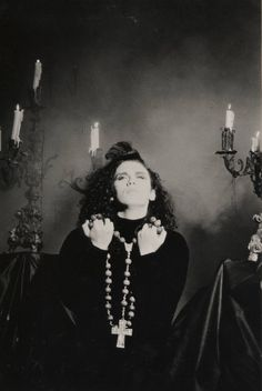 Something In My House single photo cover/sleeve for the single CD and vinyl record.  A lot of controversy came with the record, first of was the cover/ sleeve of the record. Pete Burns standing in front of a satanic alter and had an inverted cross.  Lastly the video, the video was banned from MTV(the most popular music Chanel in the 80s) because of the way he was eating a banana.  Note *there was at least 4 to 5 remixes released.
