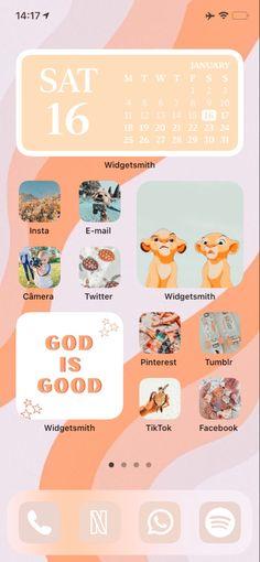 Pinterest Tumblr, Homescreen, Layouts, Ios, Organization, Iphone, Wallpaper, Getting Organized, Organisation