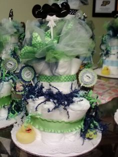 Little man baby shower made by Karen J!