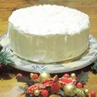 White chocolate cake!  This is super tasty!  One of the best cakes I've made from scratch!