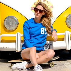 Rebel 85 | Princess Blue - Sweats - Women