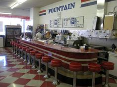 I remember the lunch counter at Woolworths and begging mom for a cheeseburger, fries and ice cream float! :-)