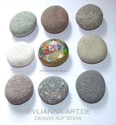 Glückssteine von VIVLIANNA-ART sind so einzigartig, wie Du.