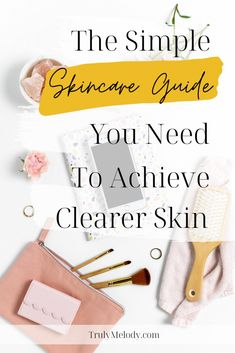 If you're looking for a skincare guide to help achieve clearer skin, look no further. This guide has simple and effective ways to cleanse and nourish your skin.  #ClearSkin #Skincare #SkincareRoutine #SkincareTips #Acne #AcneProneSkin #ClearUpAcne #SkincareforAcne #Selfcare #Selflove #HappierLife #Confidence #Happiness Self Care Routine, Acne Prone Skin, Clear Skin, How To Relieve Stress, Skin Care Tips, Your Skin, Self Love, Cleanse, Confidence