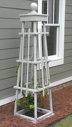 obelisk planter - Google Search