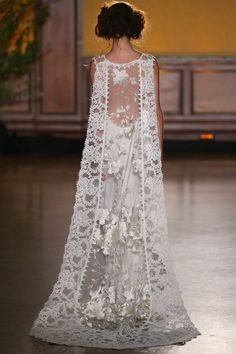 Whitney Couture Lace Wedding Dress by Claire Pettibone - Claire Pettibone Couture