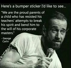 George Carlin was ahead of his time... Or maybe it's still the same old shit - Album on Imgur