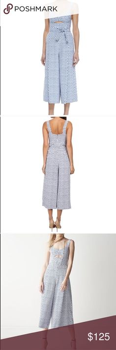 Rare Rebecca Taylor cut-out jumpsuit size 12 Rebecca Taylor cut-out  jumpsuit Rare  hard to find style Tie front and is super cute In great  condition! f6469b522