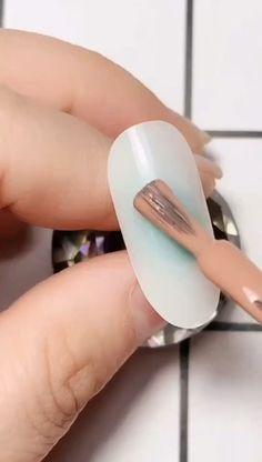 Simple nails art design video Tutorials Compilation Part 100 - The most beautiful nail designs Nail Art Designs Videos, Nail Design Video, Simple Nail Art Designs, Nail Polish Designs, Nail Designs, Rose Nails, Flower Nails, Matte Nails, Diy Nails