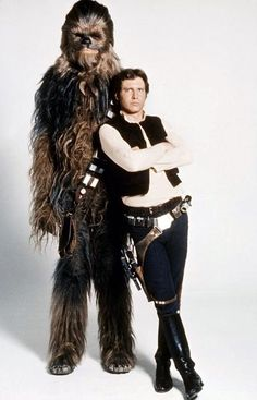 Star Wars: Chewbacca and Han Solo