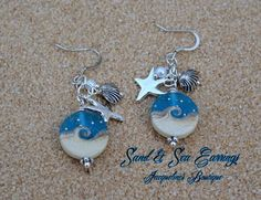 Sand and Sea Earrings - Jacqueline's Boutiqu... | Scott's Marketplace