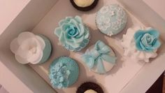 Cupcakes I made in a decorating class