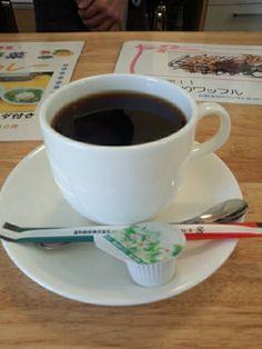 食後はブレンドコーヒーいただいています。おいしいです。