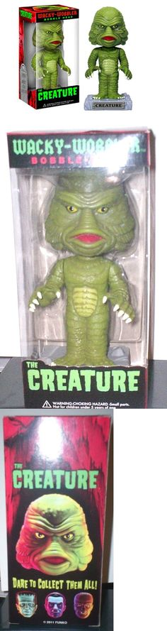 Creature from the Black Lagoon 168249: Creature From The Black Lagoon Funko Wacky-Wobbler Bobble-Head Sold Out Mib -> BUY IT NOW ONLY: $49.99 on eBay!