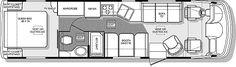 great shorter wheel base floor plan
