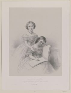 Princesses Helena and Louise   Royal Collection Trust