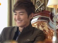 Zhang Han smile