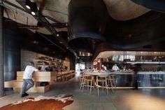 Woods Bagot have designed the Pony Restaurant in Brisbane, Australia. CONTEMPORIST