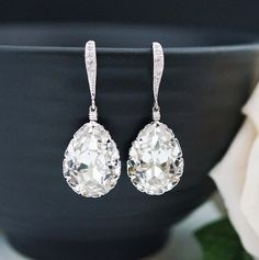 Wedding Jewelry Bridal Earrings Bridesmaid Earrings Dangle Earrings