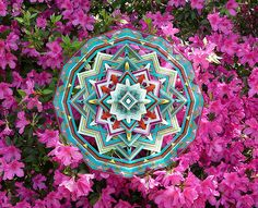 Crafted Mandalas   Jay Mohler inspiration ... he has an online shop that sells a pdf with instructions on how to make these intricate Ojos de Dios.