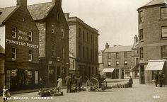 The Square, Kirriemuir, Scotland, 1908
