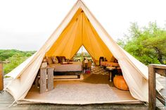 luxury texas hill country glamping