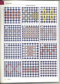 Résultats de recherche d'images pour « bordado español paso a paso Swedish Embroidery, Hardanger Embroidery, Learn Embroidery, Cross Stitch Embroidery, Hand Embroidery, Embroidery Stitches Tutorial, Sewing Stitches, Embroidery Techniques, Chicken Scratch Patterns