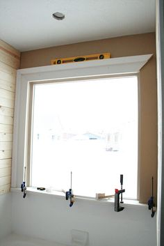 Window trim.  This whole blog is amazing!  So many great diy tutorials