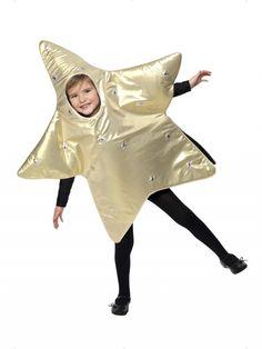 Disfraz de Estrella infantil. Kids star costume. #christmas #navidad http://www.leondisfraces.es/producto-1038-disfraz-de-estrella-infantil