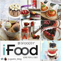 #Repost @p.gusto_blog with @repostapp  Ecco le foto scelte dalle admin @lablondeenfarinee @vatineesuvimol @marziafinedining @p.gusto_blog  nella prima settimana del #challenge  di #ifoodit ! . . . Per partecipare basta aggiungere #ifoodit alle foto pubblicate su Instagram ed ogni sera dopo le 20 ne verrà scelta una e repostata. . . . Grazie a tutti i numerosissimi partecipanti che ci hanno deliziato con le loro foto! #instafood #food #foodie #challenge #ifoodit #ifoodies #ifoodlovers…