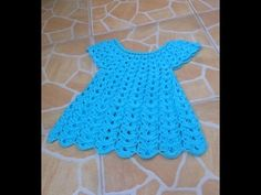 Vestido girasol tejido a crochet parte 1 / Robe tournesol au crochet partie 1 - YouTube