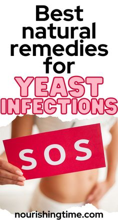 These natural remedies for yeast infection are the best because they work quickly to alleviate the symptoms of yeast infection and get rid of the infection for good. Some of these remedies are also helpful for long-term use, including foods to prevent yeast infections... so if you want to learn how to avoid yeast infections read on! The post also includes foods to avoid when you have a yeast infection as some foods can exacerbate your issue. Learn more now! #yeastinfection #nourishingtime