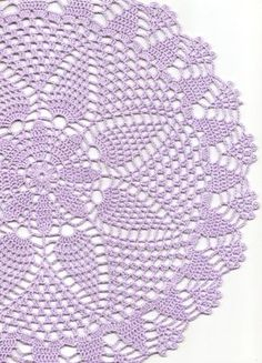 Ganchillo, tapete, tapete de encaje, decoración de la mesa, mantel, tapete mantel, corredor de la tabla, servilleta, lila de ganchillo