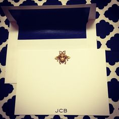 Gold bees stationary