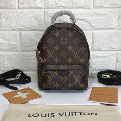 cb55266dbaf6 Louis Vuitton lv mini monogram backpack original leather version