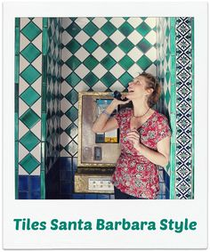 Santa Barbara has lots of beautiful tiles everywhere you look.