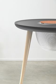 Contemporary Fabric Top Sidetable on Behance