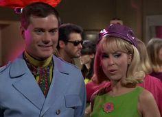 I Dream of Jeannie: Season 2, Episode 31 The Mod Party (24 Apr. 1967) Barbara Eden, Larry Hagman, Sidney Sheldon
