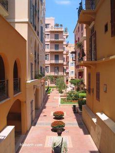 Beirut, Lebanon, Saifi Village Walkway