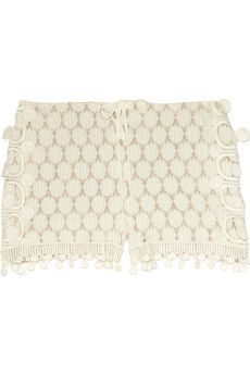 lace shorts by Anna Sui $280