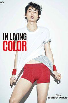 菅田将暉がアンダーウェアブランド「ボディワイルド」の17年春夏ビジュアルにの写真2