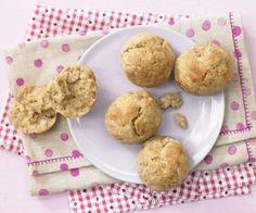Rezept: Süße Brötchen aus Quarkteig