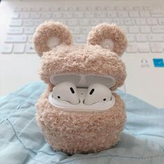 baby teddy bear Teddy Bear Knitting Apple AirPods case will protect your AirPods from impacts and scratches. There is 6 colors of Teddy Bear case. Cute Cases, Cute Phone Cases, Iphone Cases, Accessoires Iphone, Air Pods, Airpod Case, Coque Iphone, Iphone Accessories, Craft Stick Crafts