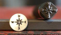 Advantage Series Compass Metal Design Stamp - SGAD-45